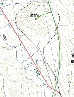 蘭留山log