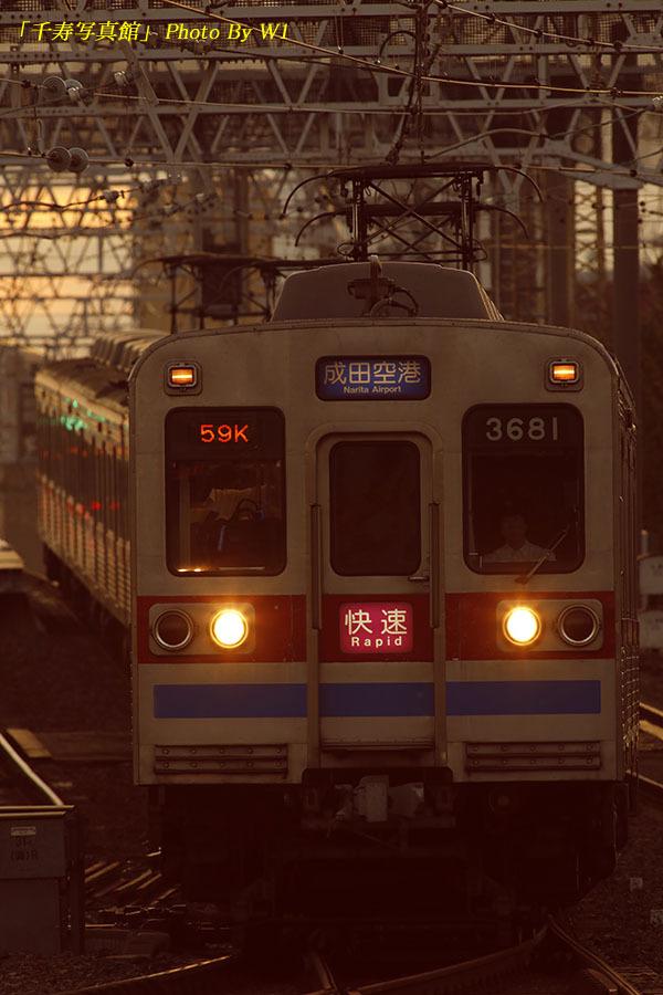 京成3688F快速成田空港191009