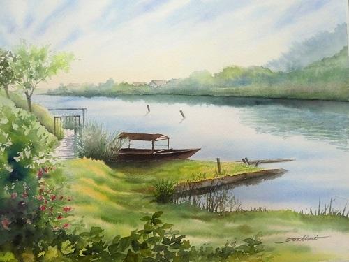 琵琶湖西の湖