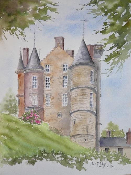 モンミライユのお城