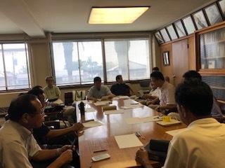市議会対策会議