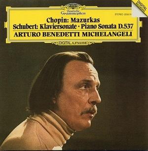 Arturo Benedetti Michelangeli - ARTURO BENEDETTI MICHELANGELI CD5