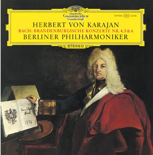 Karajan CD30 Bach Brandenburgische Konzert Nr 4, 5 6