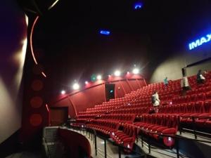 ミラマーシネマのIMAXシアター