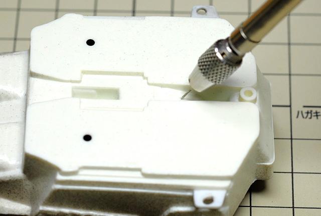 7200 シフトレバー取り付け孔加工 640×430