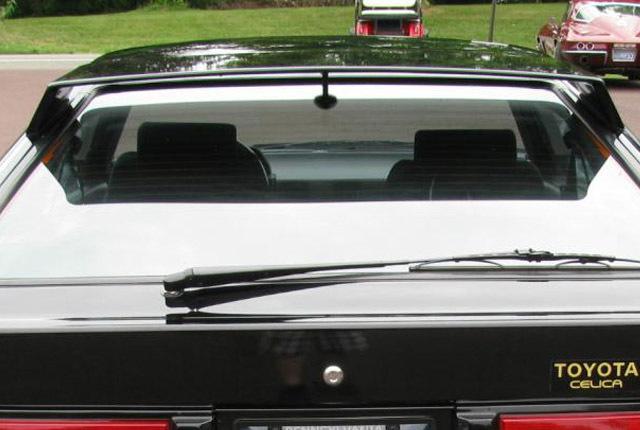 スープラ実車 リアスポイラー 640×430