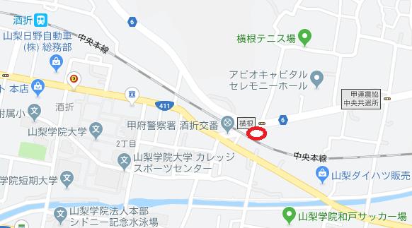 古道歴史公園地図