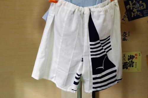 浴衣リメイク 半ズボン バミューダズボン
