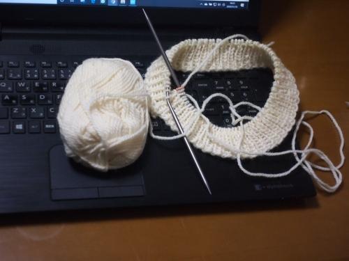初心者 編み物 棒針編み 帽子