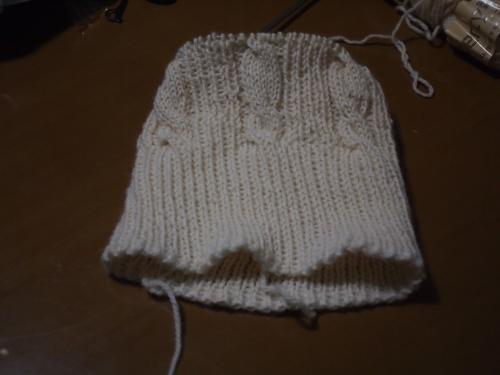 #初心者 #編み物 #棒針編み #Knit #sewing 帽子