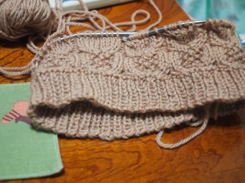 #初心者 #編み物 #棒針編み #Knit #sewing ベルンド ケストラー ふくろう帽子