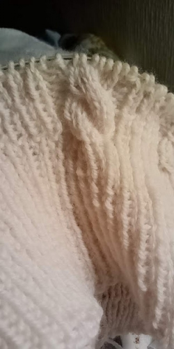 #初心者 #編み物 #棒針編み #Knit #sewing #一人手芸部