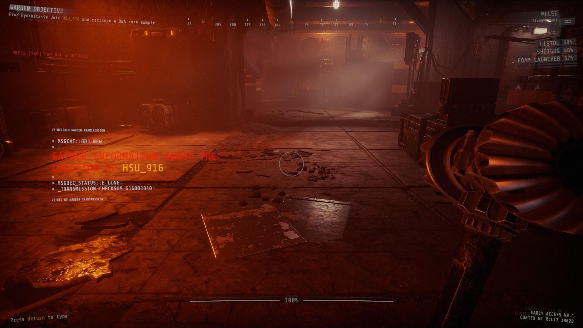 [PCゲーム]GTFO早期アクセス、そうだ、地下施設を調べにいこう。3