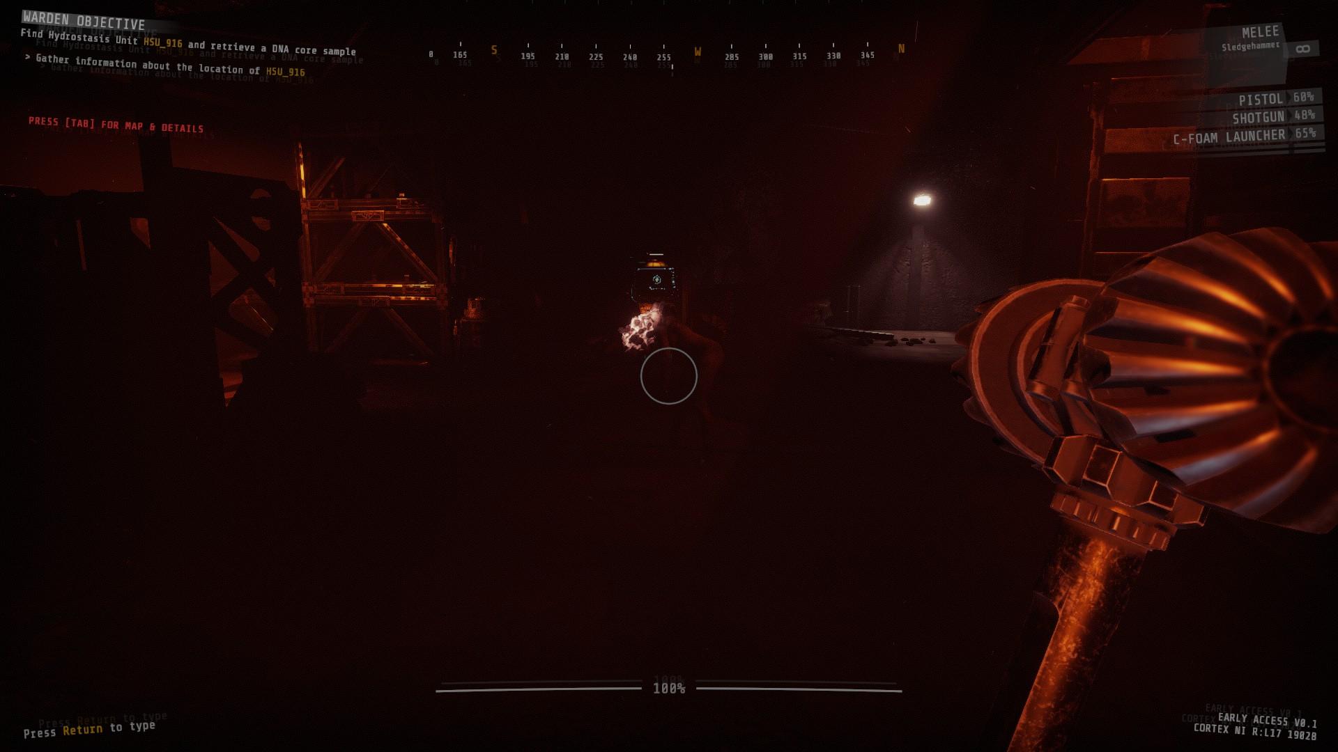 [PCゲーム]GTFO早期アクセス、そうだ、地下施設を調べにいこう。4
