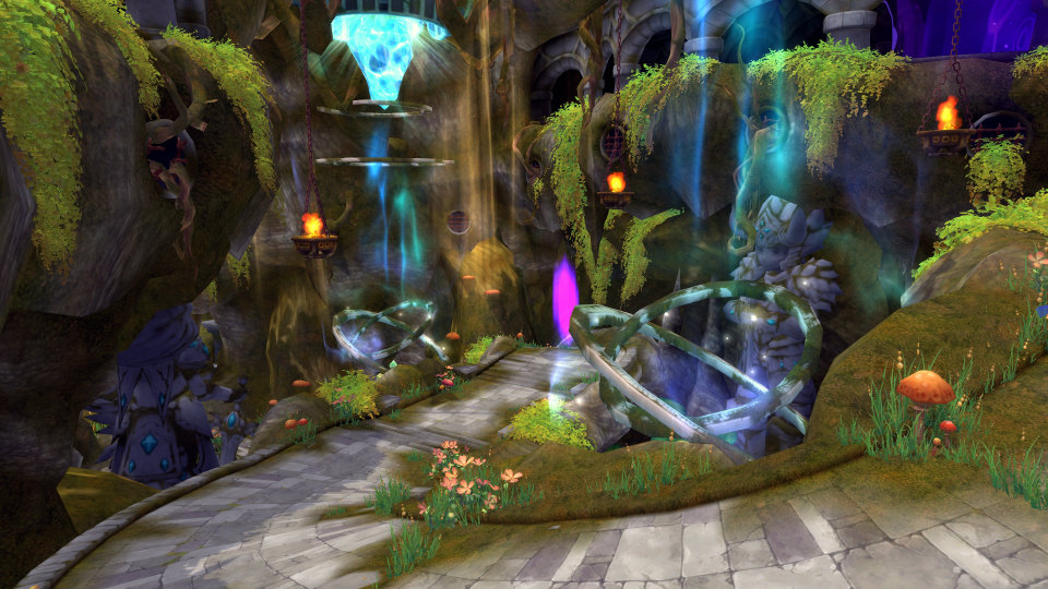 基本プレイ無料のクロスジョブファンタジーMMORPG『星界神話』 星霊に変身して攻略する特殊ダンジョン「クイナの混沌世界」を実装したぞ
