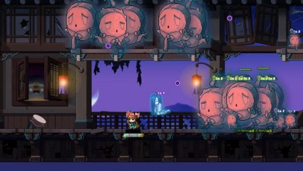 基本プレイ無料の痛快横スクロールRPG『メイプルストーリー』 生存時間を競い合う「ゴーストパークランキングモード」を追加したぞ
