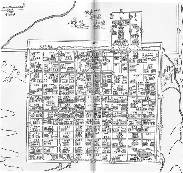 20190705 長安城復元図