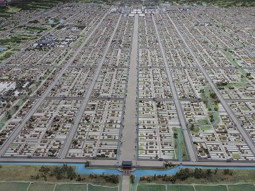 20190705 奈良の都の復元模型