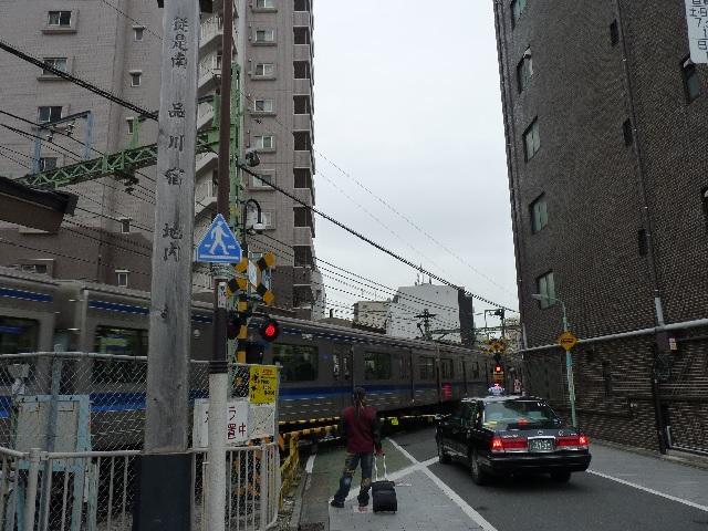 品川宿 京急の踏切