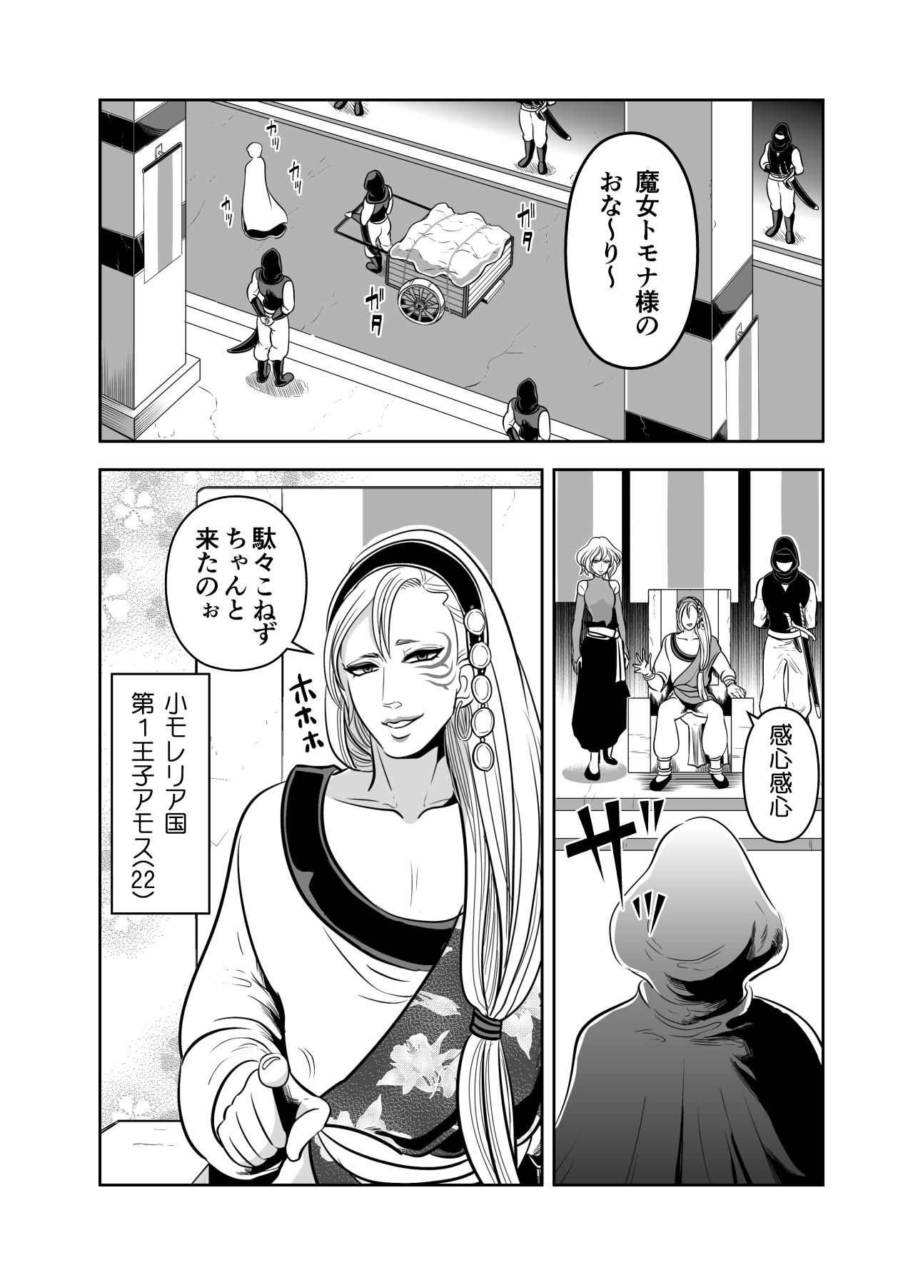 ヤサグレ魔女と第1王子と吸血鬼①0003
