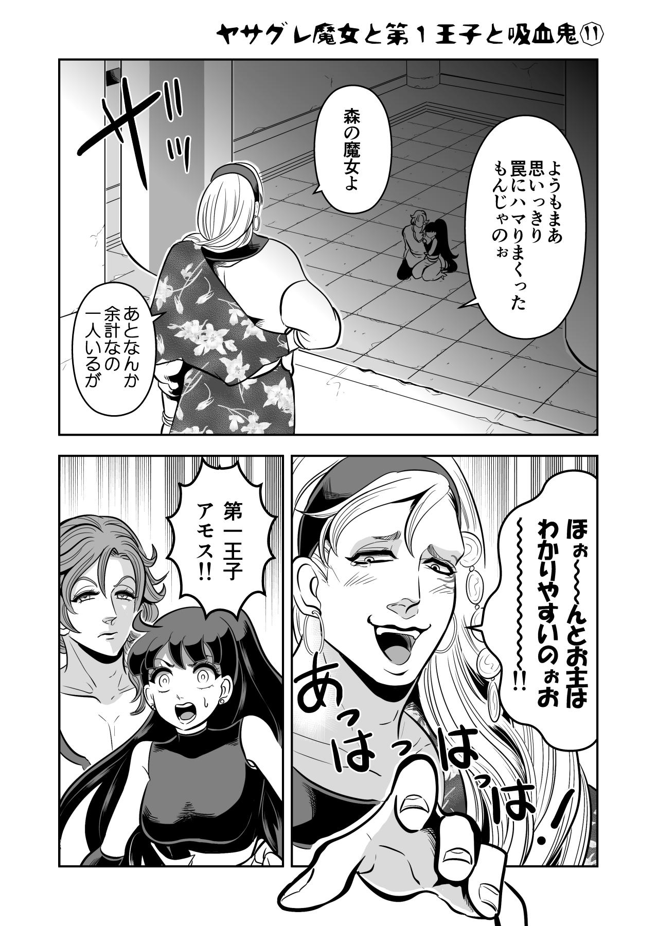 ヤサグレ魔女と第1王子と吸血鬼⑪ (1)