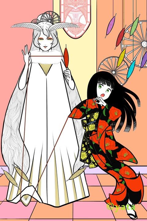 絹の女王2