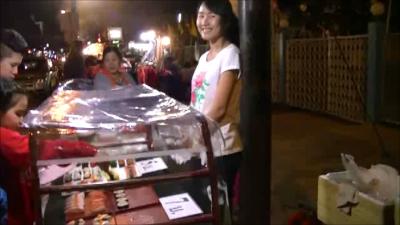 タイ ノンカーイ 鮨屋台少女 ノンカーィすし屋台少女4