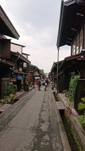 高山の伝統的町並み