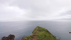 鰊曇りの海