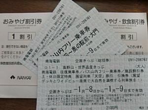 高野山・世界遺産きっぷ