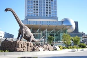 恐竜モニュメント