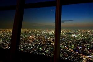 12月の高層夜景
