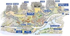 玄武洞公園図