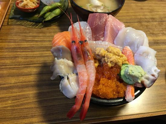 港寿し②~海鮮丼