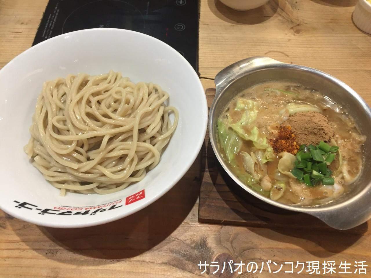 フジヤマ55はタイで一番美味しい魚介系つけ汁が特徴のつけ麺店 in プロンポン