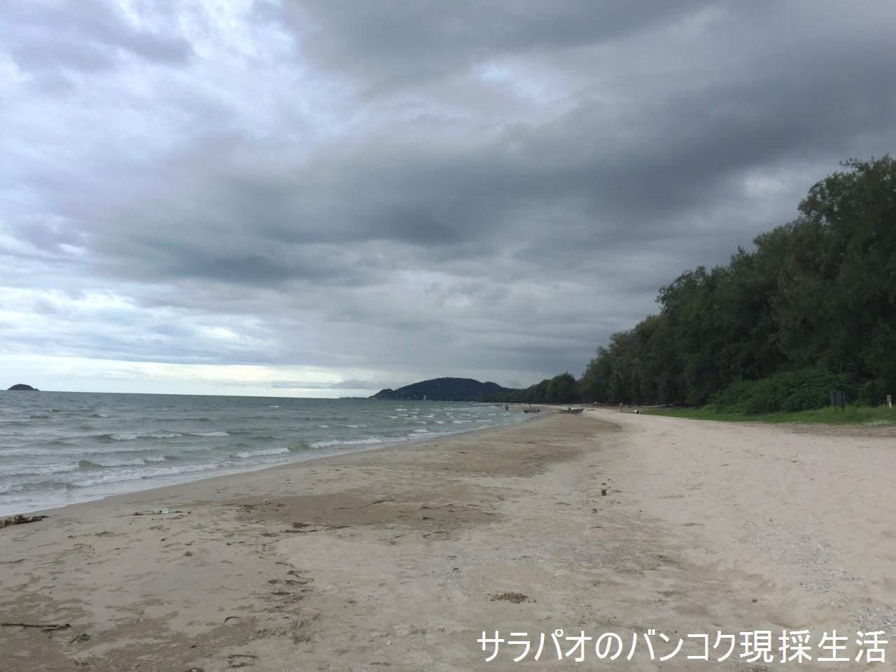 スワンソンビーチは人の少ない静かなビーチ in ホアヒン