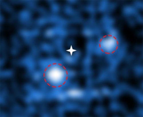原始惑星系円盤の隙間に2つの惑星を直接撮像