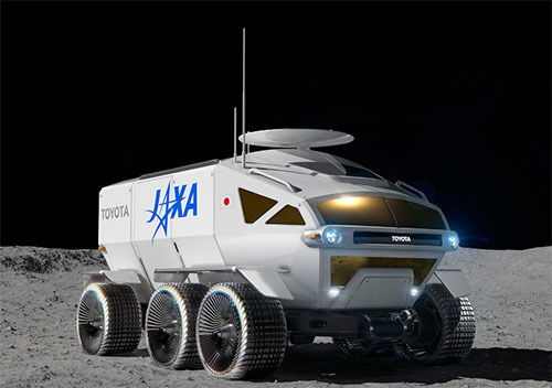 JAXAとトヨタの有人与圧ローバ共同研究