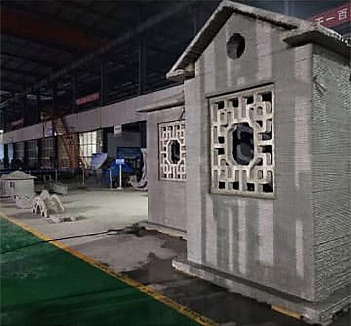 中国企業、建設用3Dプリンター実用化に成功