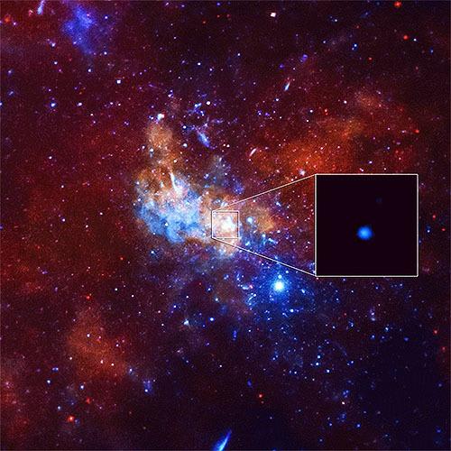 天の川銀河の中心ブラックホール活発化?