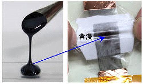 静電気を貯める液体