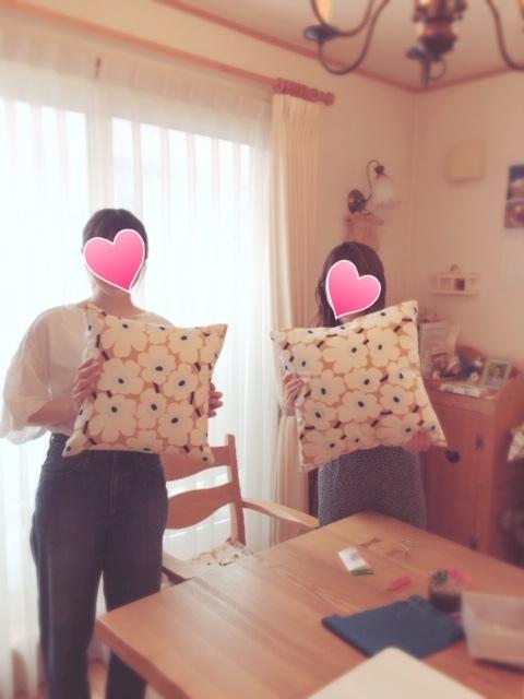 2019.7.12マリメッコのクッションカバー②
