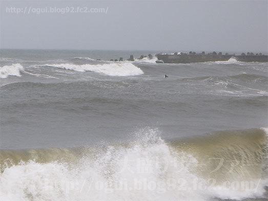 九十九里でサーフィン022