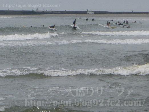 九十九里でサーフィン002