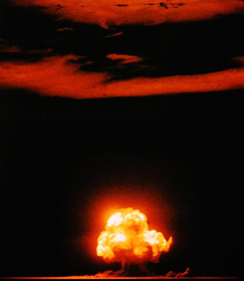 【トリニティ実験】74年前、アメリカ・ニューメキシコ州で人類初の原子爆弾の実験に成功…人類が神に近づいた時だよな、これ