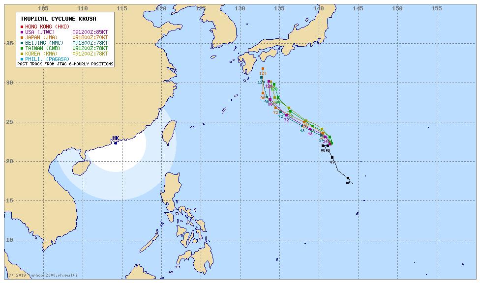 【ヤバイ】台風10号がお盆後半に直撃!影響長期化で「1000mm級の大雨」