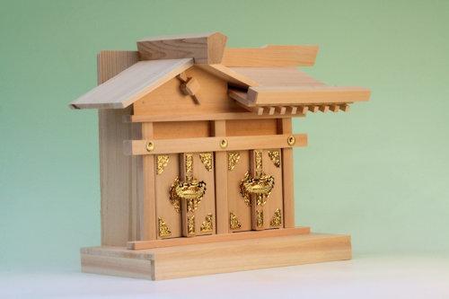 尾州檜で作る二社の神棚