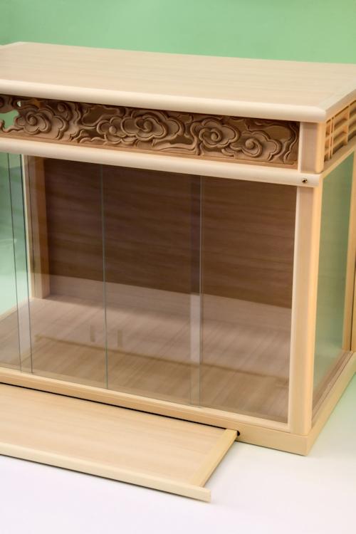 神棚を入れておくためのガラスケース
