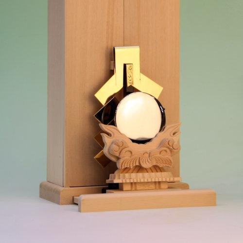 神鏡と金幣芯の組み合わせ