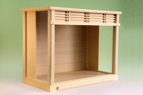 小型サイズの神棚に最適な神棚入れ ガラスケース